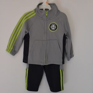Adidas Soccer Track Outfit 6 Months!